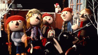 Julekalender: Jullerup færgeby er en af de mange julekalendere gennem tiden.