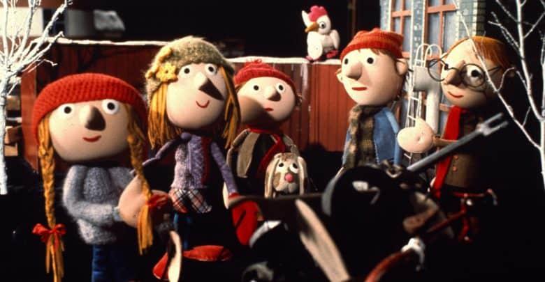 Jullerup færgeby er en af de mange julekalendere gennem tiden.