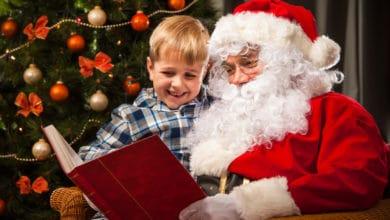 Julehistorie læses af julemanden