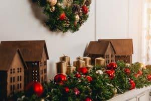 kreativ og hjemmelavet juledekoration