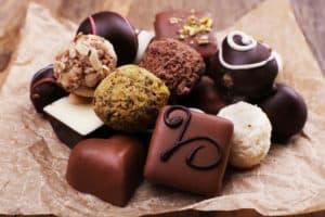 Smag på chokolade sammen