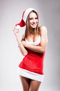 Frækt julekostume