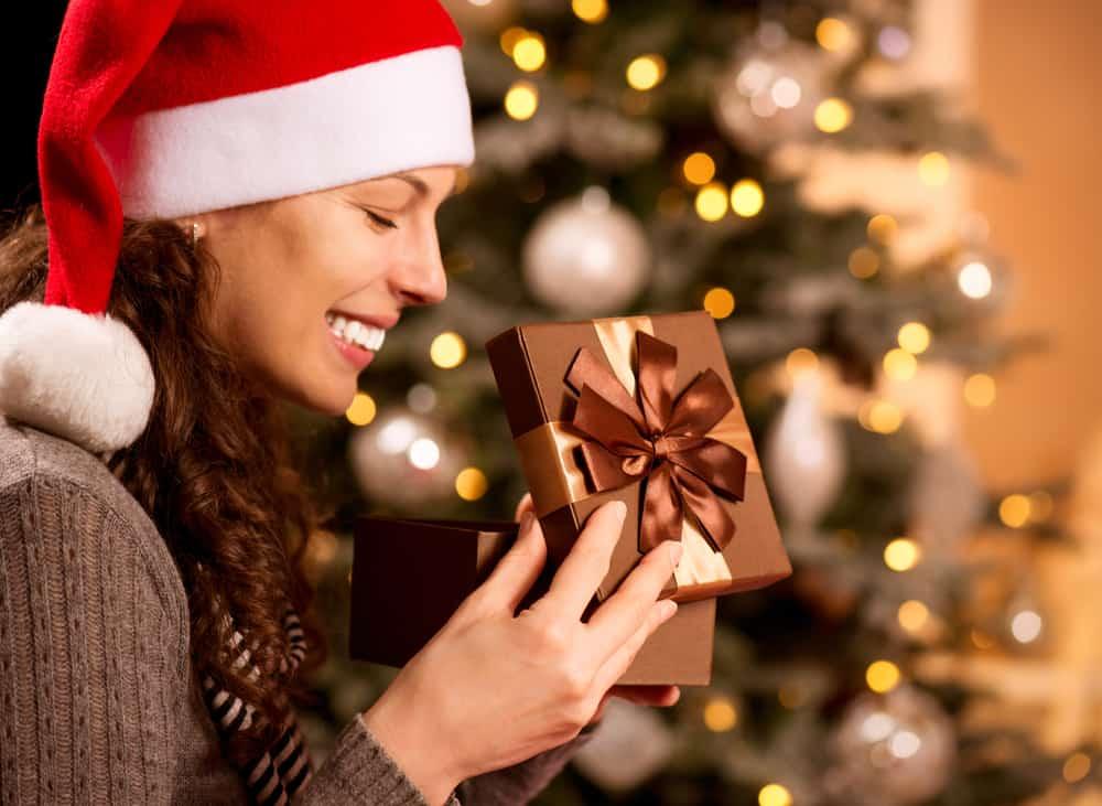 julegave til hende