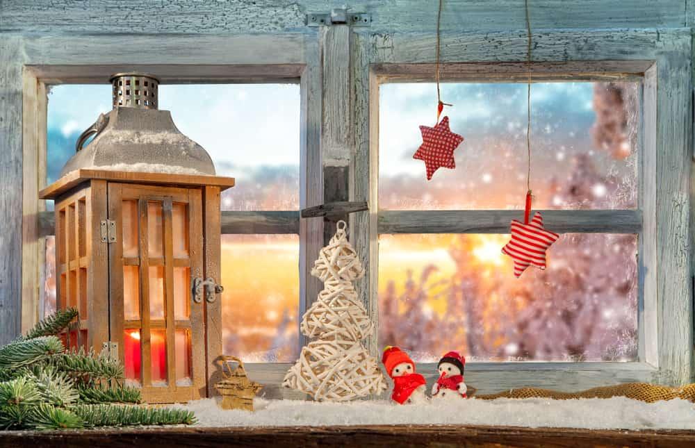 Julepynt til vinduer