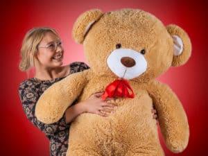 Køb en kæmpe bamse til kæresten