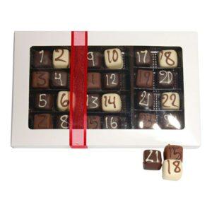 Den bedste julekalender med chokolade