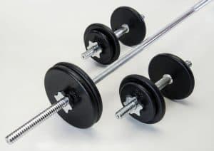 Træningsudstyr til den aktive far