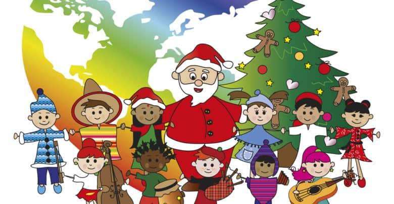 Jul i andre lande